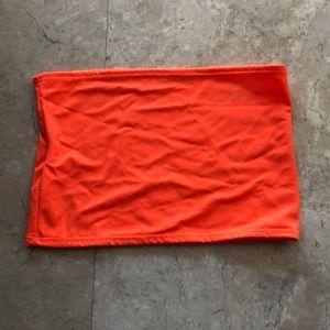 Other - Neon orange tube top